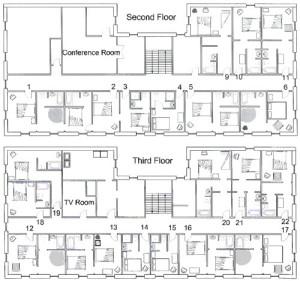 Palmer House Floor Plan